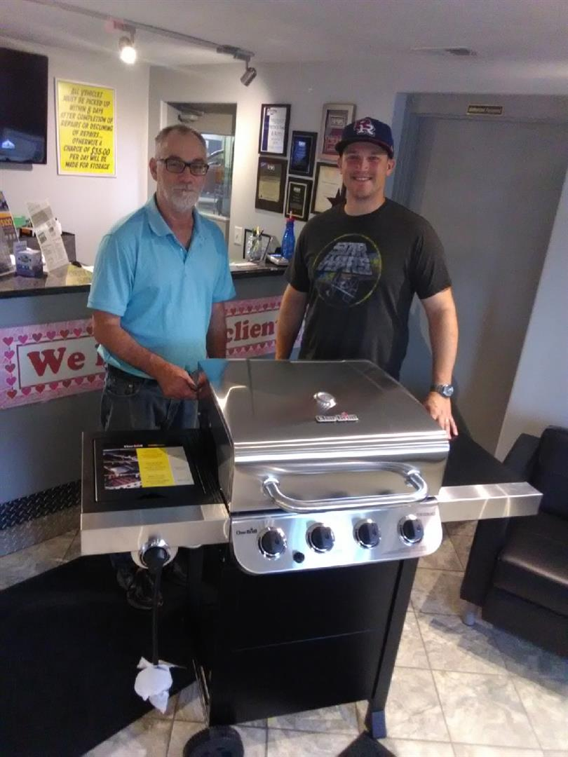 2019 GREAT GRILL GIVEAWAY Winner
